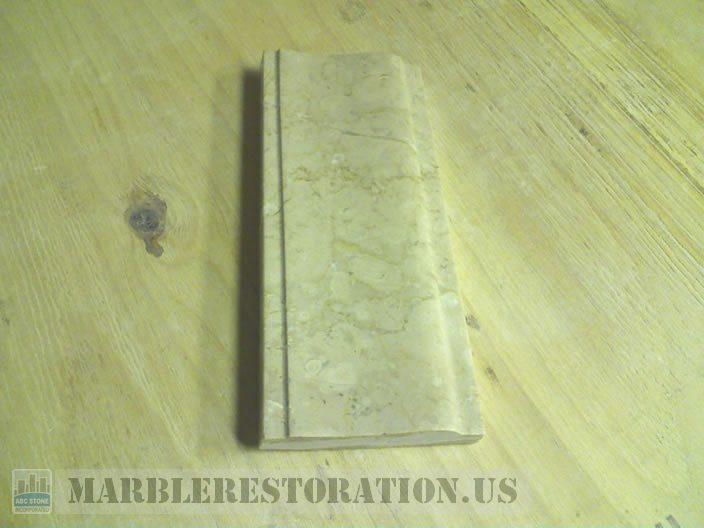 Custom Molding Fabrication. Botticino Marble