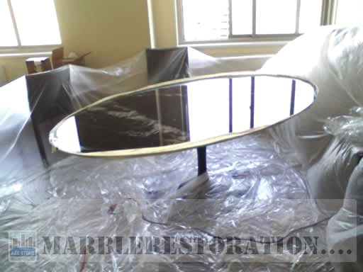 Saarinen Oval Dining Marble Table