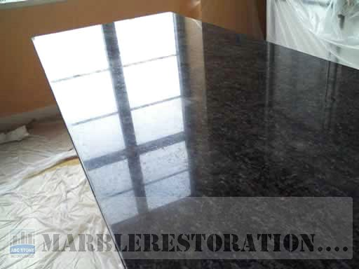 Seam On Granite Counter Top