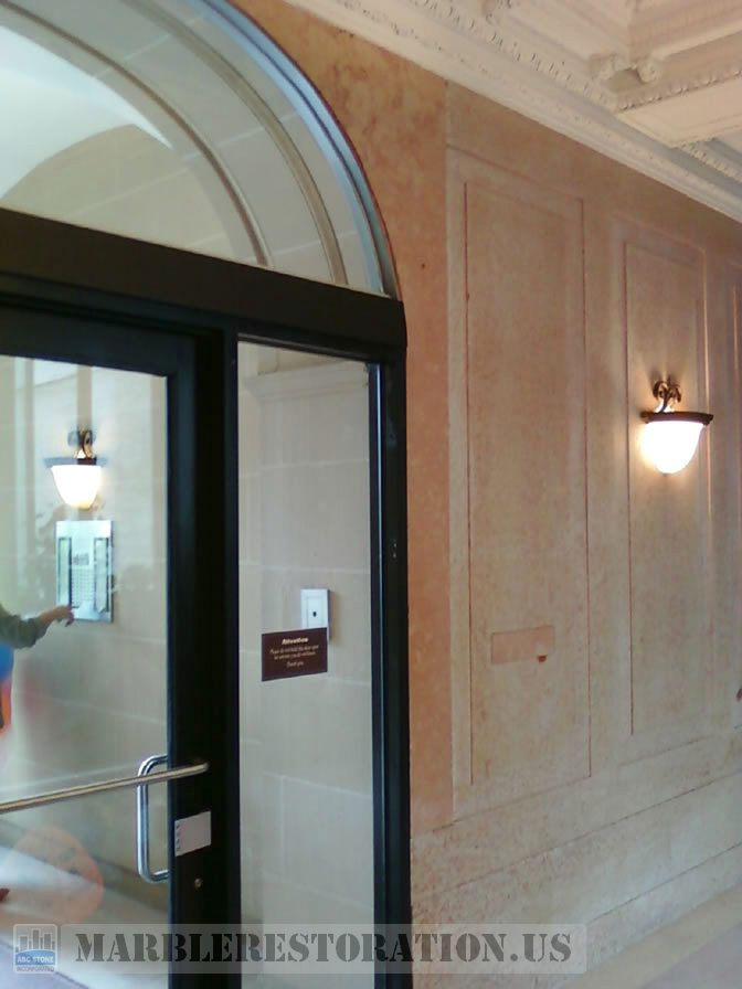 Lobby Panel Fixed and Installed