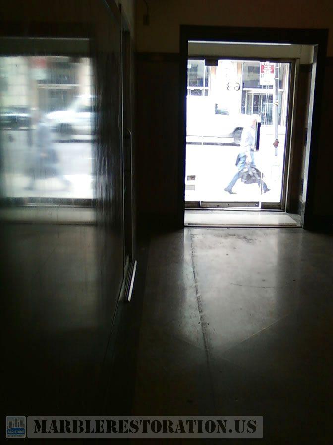 Shabby Terrazzo Lobby Shine Restoration
