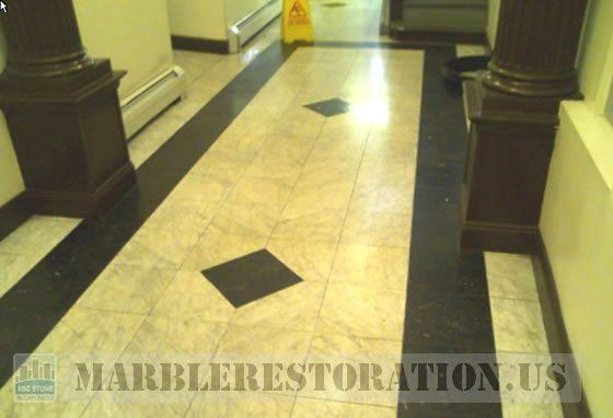 Marble Lobby in Harlem NY