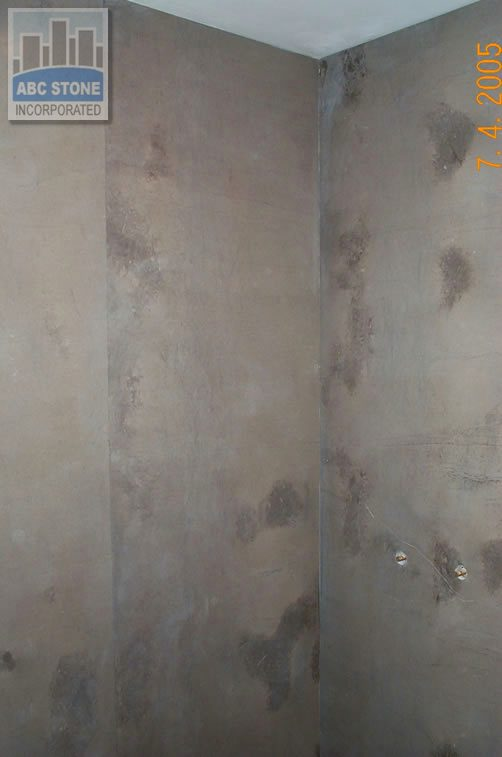 Marble Shower Walls. Hone