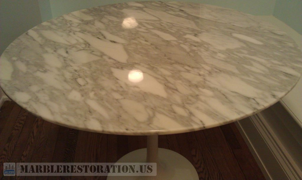 Waves on Marble Table
