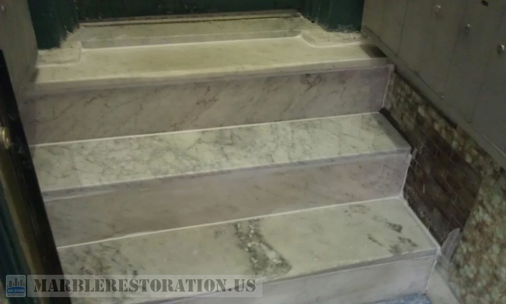 Marble Steps Replacement Amp Risers Repair