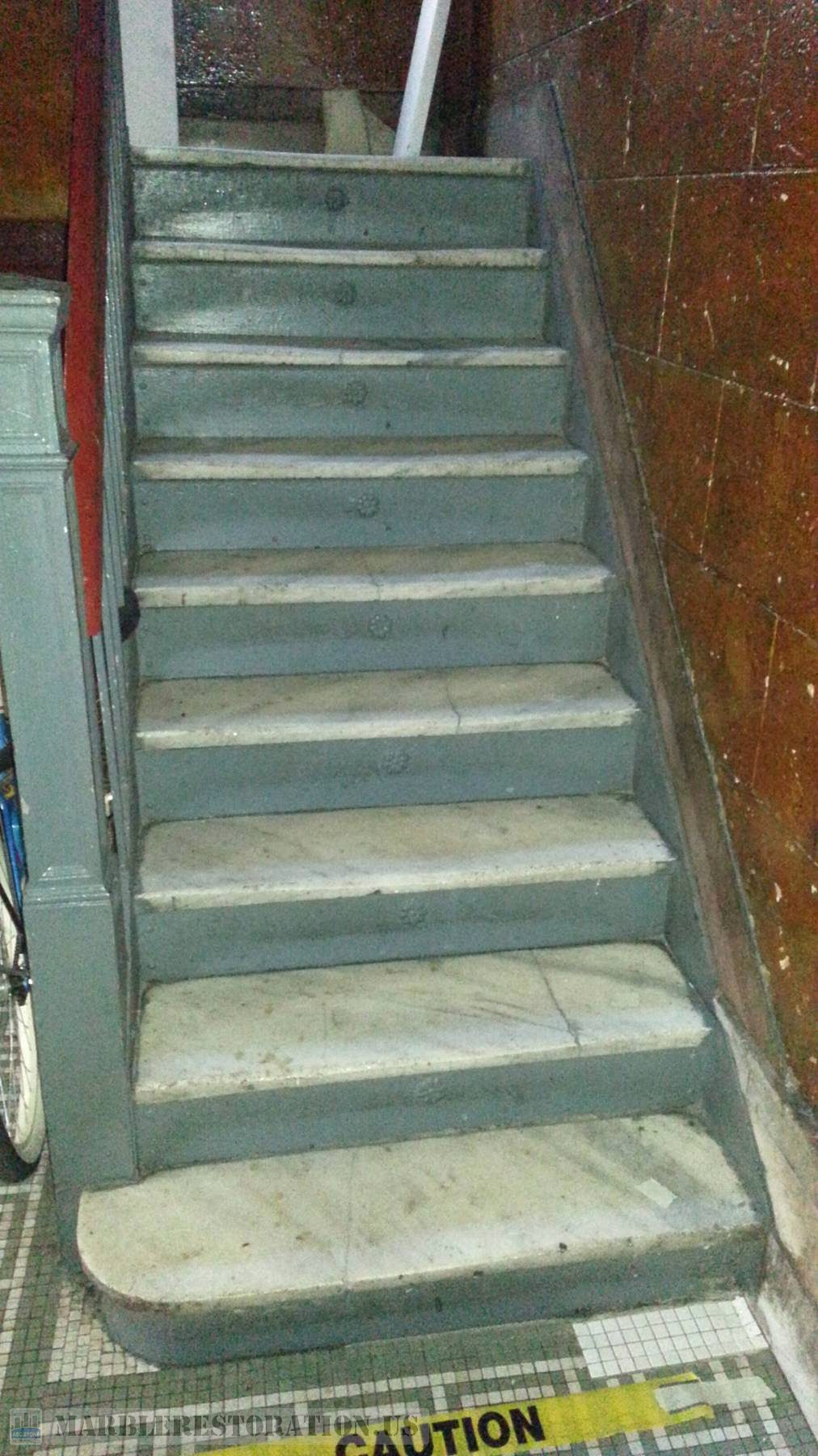 Brooklyn Danby Marble Staircase Replacement