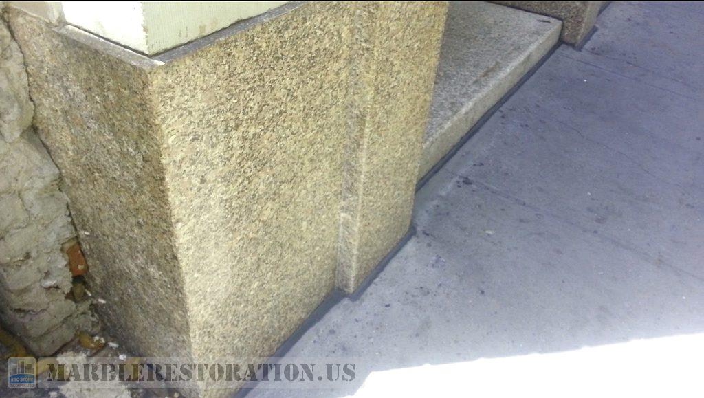 Building Facade Granite Cleaned Blocks Manhattan