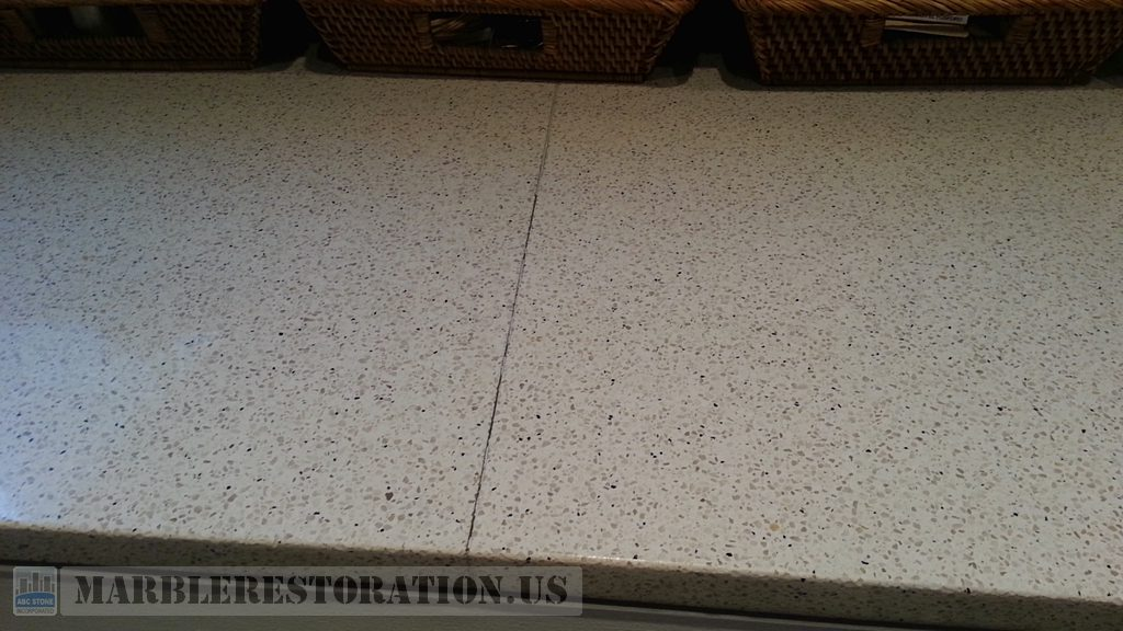 Caesarstone before Seam Repair