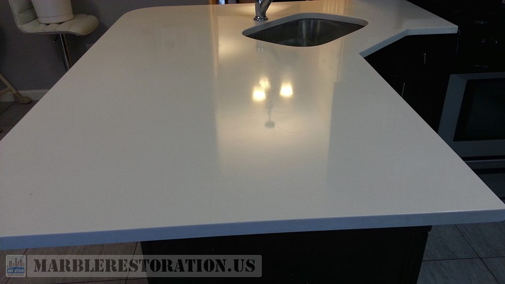 Corian Kitchen Countertop Likenew Look