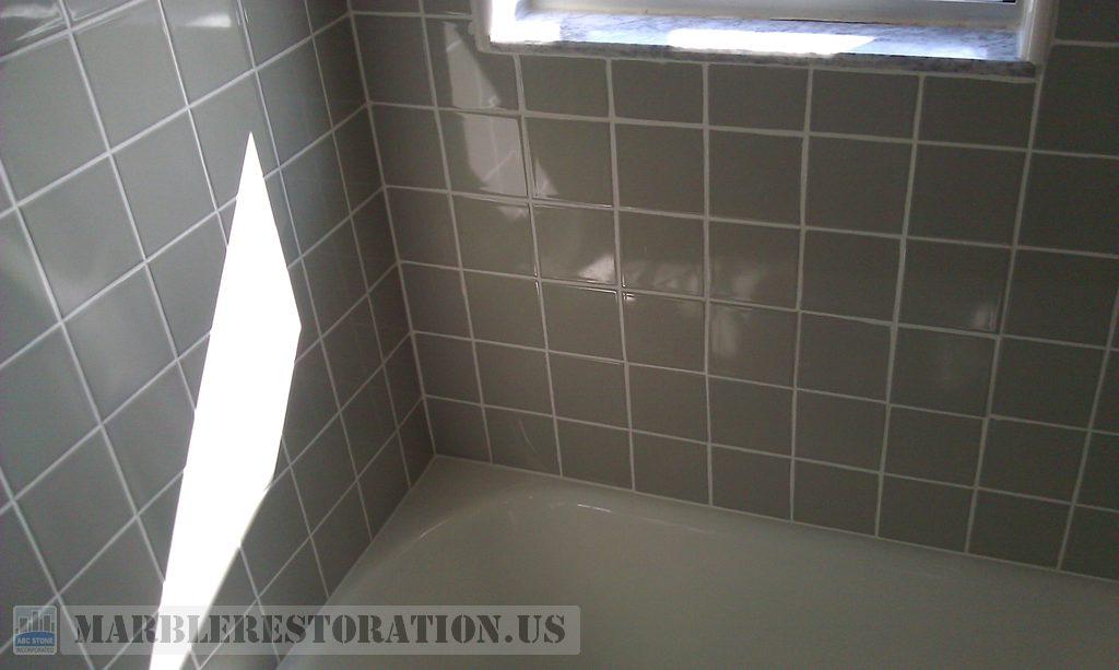 Loosen Ceramic Tiles Re Installed