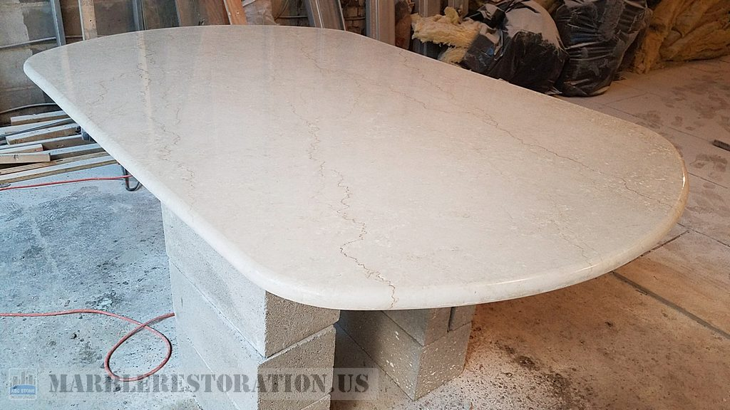 Oval Table Cut and Fabrication